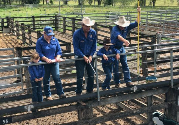 family at the murgon fat and store sale 1